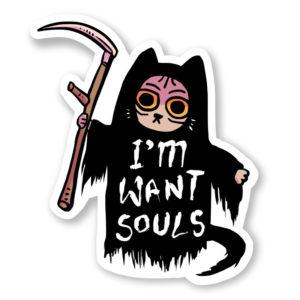 I'm want souls stickers