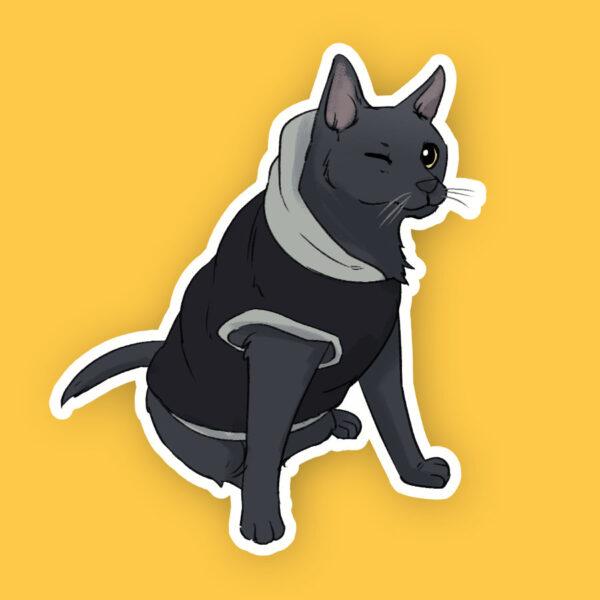 Kitty sticker